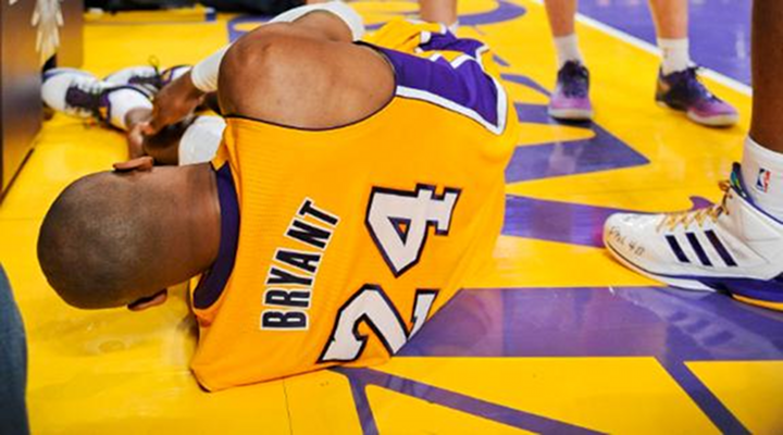 Lakers Kobe Bryant Goes on Epic Injury Rant on Facebook After Tearing His Achilles