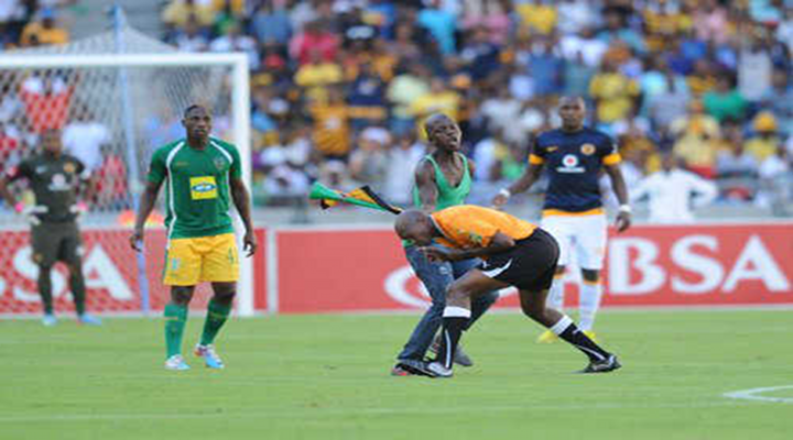 South African Soccer Fan Attacked Referee With Vuvuzela [Video]