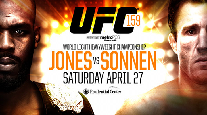 UFC 159  Preview: Jon Jones Vs. Chael Sonnon Live ONLY on PAPER-VIEW!