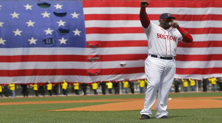 """Red Sox David Ortiz Assures Boston That """"This is Our F***ing City"""" During Pre-Game Tribute [Video]"""