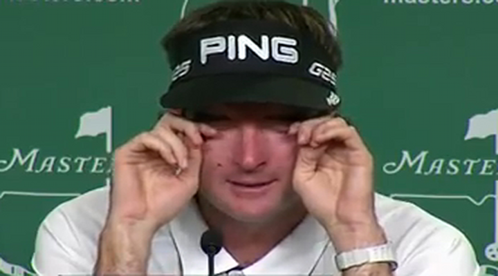 Bubba Watson Cried During His Masters Press Conference, Gives Us Another Reason to Like the Guy [Video]