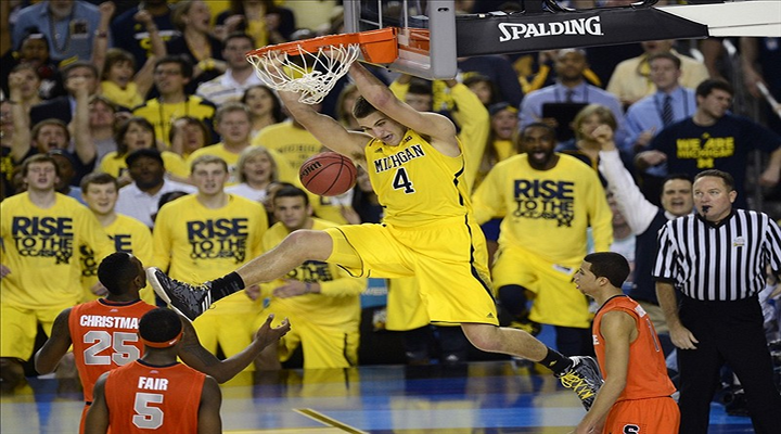 Mitch McGary's HighLight Reel Sends Michigan to the Title Game Against Louisville [Video]