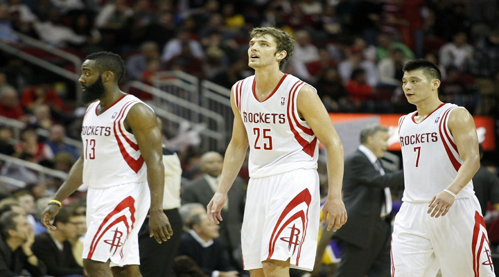 Chandler Parsons Line-Drive 3-Pointer to Force Overtime Not Enough for Rockets to Beat Lakers [Video]