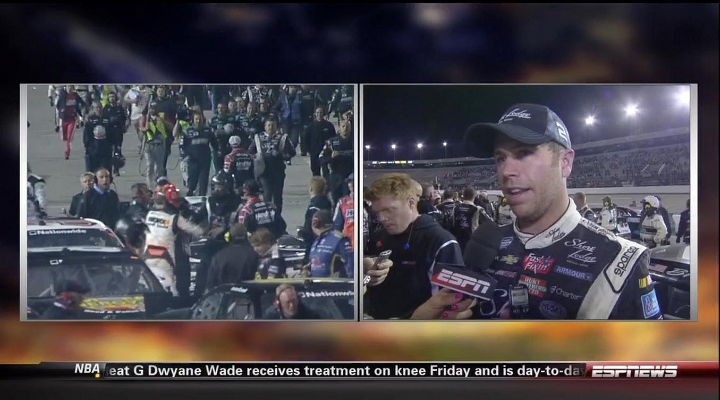 Nelson Piquet Jr. Kicked Brian Nelson in the Groin After Nationwide Race in Richmond [Video]