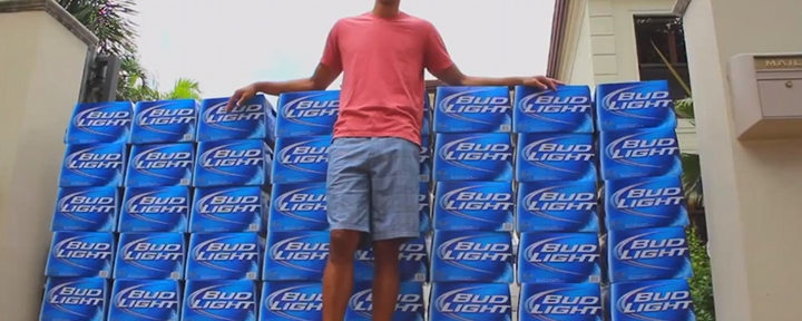 Bud Light Delivered Shane Battier 1,100 Cases of Bud Light Because He Likes Bud Light [Video]