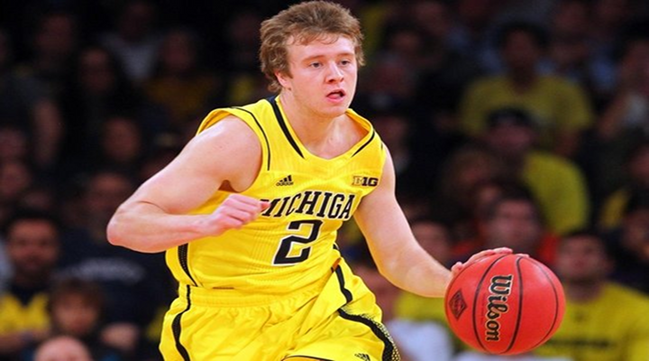 Spike Albrecht Can't Miss: He's 9-for-9 on 3-Pointers in the NCAA Tournament, and Has Made His First Three Shota [Video]