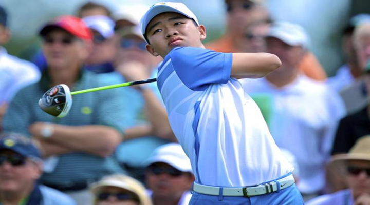 14-Year-Old Phenom, Tianlang Guan, Shot a 73 at the Opening Round at the Masters [Video]