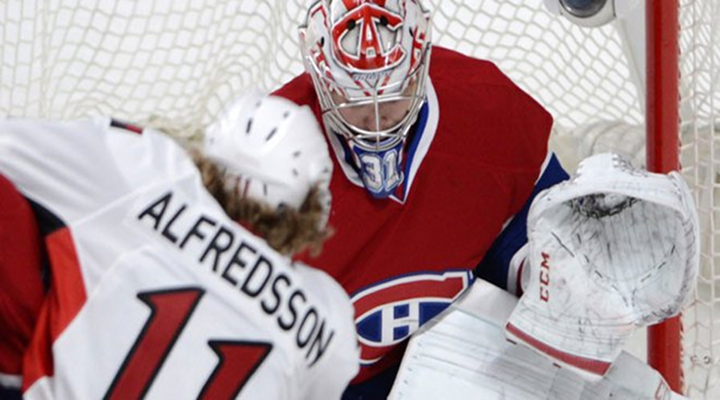 Canadiens Goaltender Carey Price Loses Tooth, Then Brings it Over to His Bench [Video]