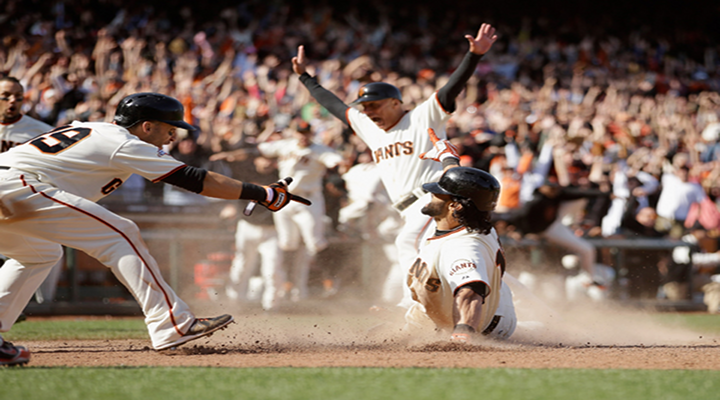 Angel Pagan Hit a Walk-Off Inside-the-Park Home Run Today vs. the Rockies [Video]