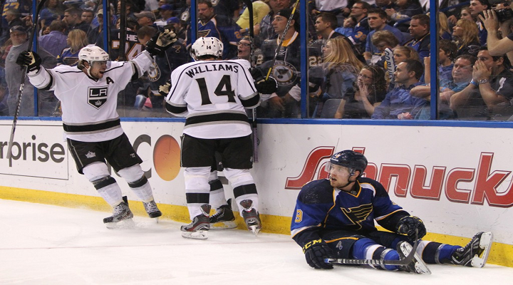 Jaden Schwartz Threw A Tantrum & Smashed His Stick After the Kings Beat the Blues in Overtime [Video]
