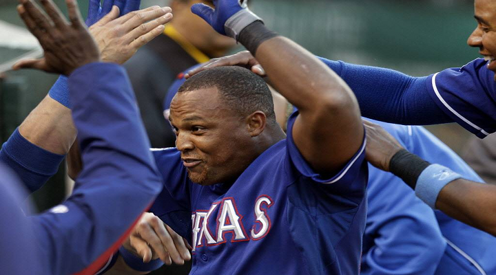 Adrian Beltre Threw His Glove at Elvis Andrus for Touching His Head During Rangers-Mariners game [Video]