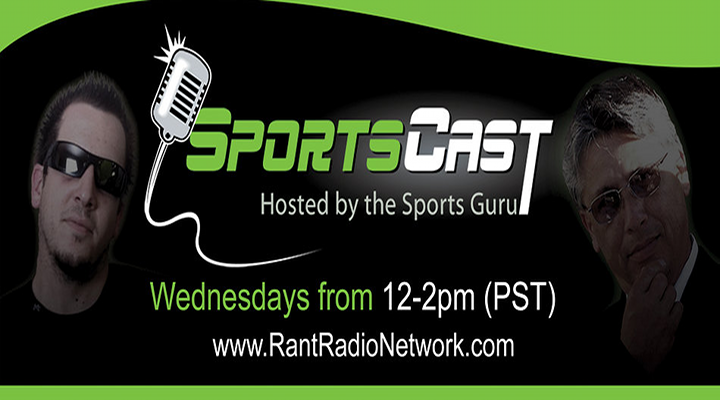 SportsCast: Episode 79 (05-29-13) – World Premier on The Rant Radio Network