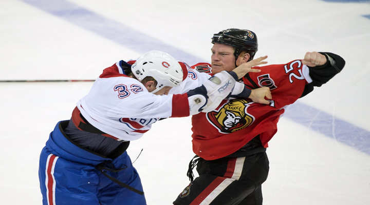 Canadians – Senators Line Brawl Results in 147 Penalty Minutes in Game 3 [Video]