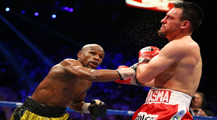 Floyd Mayweather Jr. Beat Robert Guerrero by Unanimous Decision