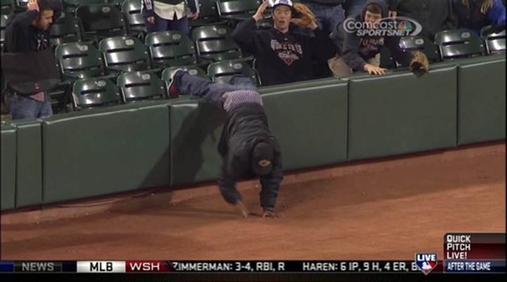 Giants Fan Grabs Fair Ball, Then Loses His Pants & Gets Ejected [Video]