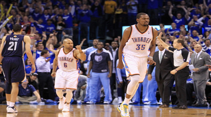 Kevin Durant Drills Game-Winning 3-Pointer to Seal Game 1 vs. Memphis Grizzlies [Video]