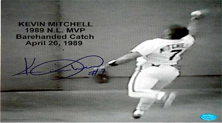 MLB is Finally Uploading Content to YouTube, Here's Kevin Mitchell Making a Barehanded Catch [Retro Video]