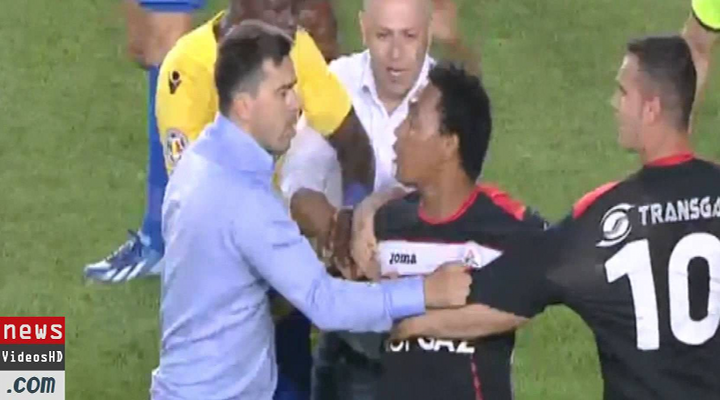 Romanian Soccer Brawl Features Goalie Biting Opponent, Faces Punches & Lots of Red Cards [Video]