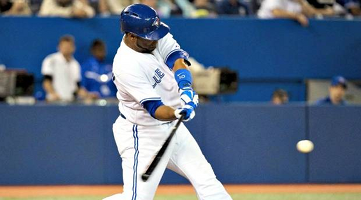 Blue Jays Edwin Encarnacion Hit a Tape Measure Shot Into the Upper Deck at Rogers Centre [Video]