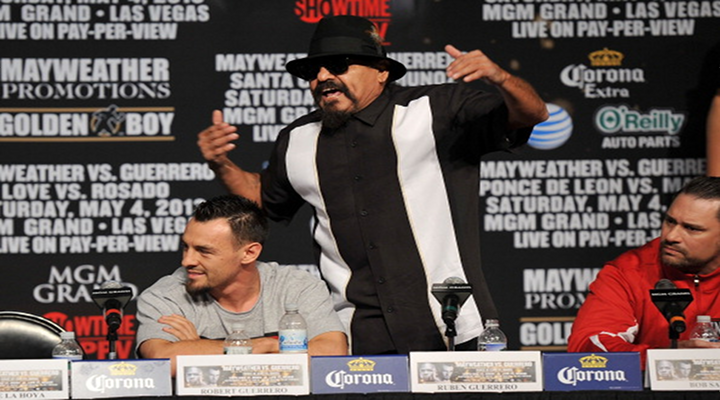 Roberto Guerrero's Father Goes Off on Floyd Mayweather Jr. About Woman Beating During Press Conference [Video]