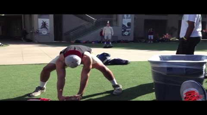 USC Trojan Commit Zach Smith's Long-Snapping Trick Shots [Video]