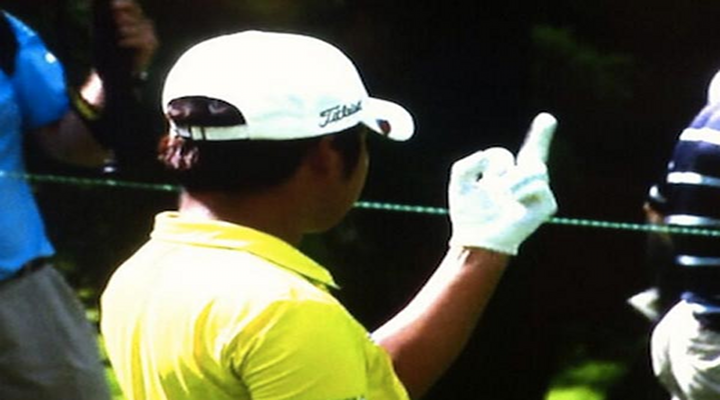 D.H. Lee Caught Giving Middle Finger During Round 3 of AT&T National [Video]