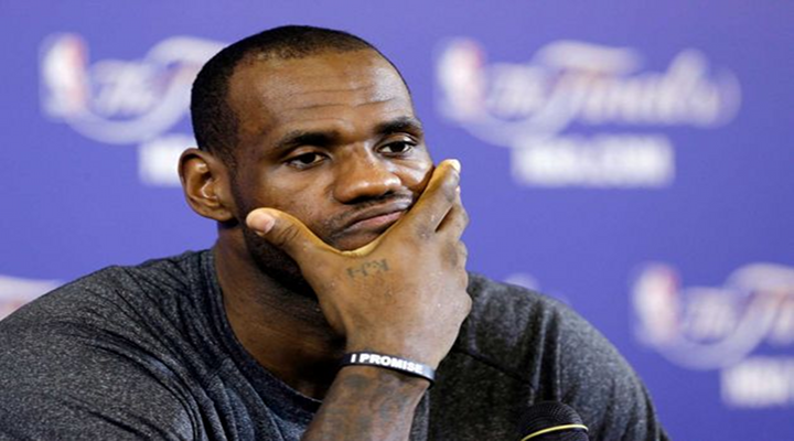 "LeBron James on His Game 3 Performance: ""I Played Like S***"" [Video]"