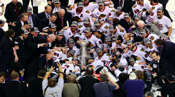 WHAT A FINISH: Chicago Blackhawks Score Two Goals in Final Two Minutes to Win the Stanley Cup