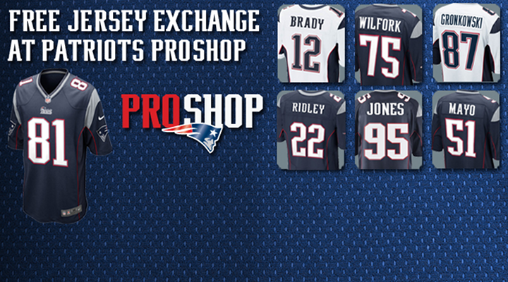 New England Patriots Offer Free Jersey Exchange for Anyone With a Aaron Hernandez Jersey