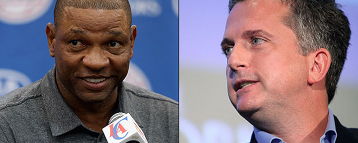 Clippers New Coach Doc Rivers Takes a Shot at ESPN's Bill Simmons, Calls Him a Idiot [UPDATE: Doc Accusing Simmons of Trying to Get Him Fired]