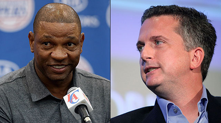 Clippers New Coach Doc Rivers Takes A Shot At ESPN's Bill Simmons, Calls Him a Idiot [Video]