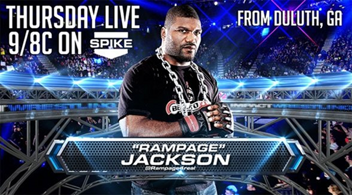 Rampage Jackson Debuts on TNA Wrestling, Will Face Off Against Kurt Angle