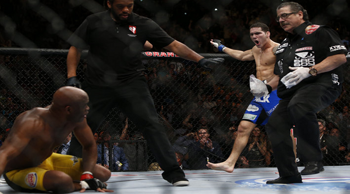 Down Goes the Champ: Chris Weidman Knocks Out Anderson Silva at UFC 162 [Video]