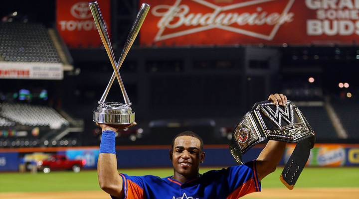 Yoenis Cespedes Wins 2013 Home Run Derby: Had Epic Bat Flip After Hitting Winning Homer [Video]