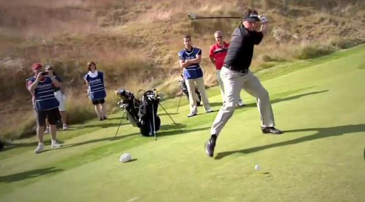"Phil Mickelson, Paul Lawrie, Nicolas Colsaerts and Other Golfers Try Doing the Famous 'Happy Gilmore"" Swing [Video]"