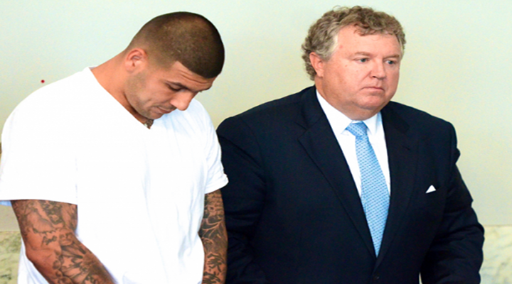 Aaron Hernandez: Admitted to Shooting Odin Lloyd According to Court Documents [UPDATE: Carlos Ortiz, Who Says that Ernest Wallace Told Him that Hernandez Pulled the Trigger, is a Heavy Drug User]