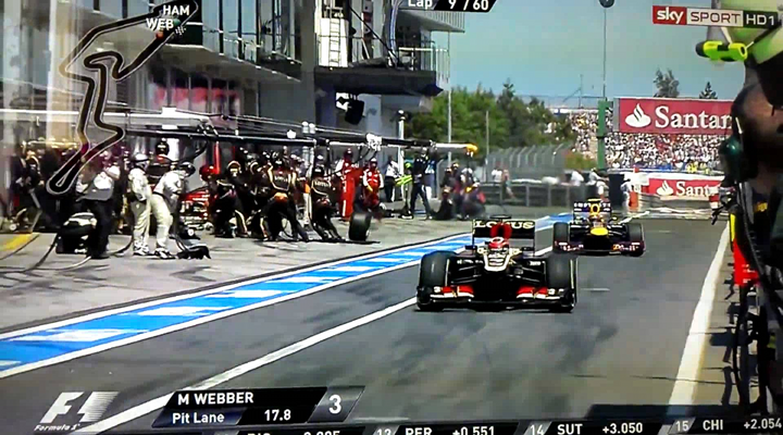 Cameraman Gets Knocked Out By Merciless Flying Tire at Formula One Race [Video]