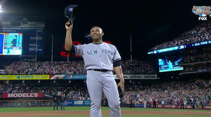 """Mariano Rivera Entered the All-Star Game to Metallica's """"Enter Sandman"""" as the American League Won 3-0 to Secure Home Field Advantage [Video]"""