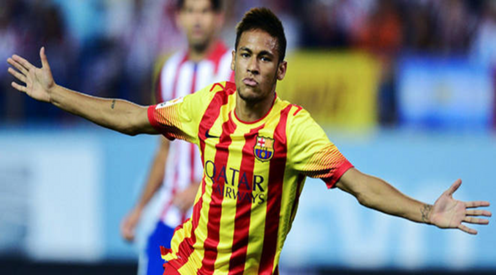 Neymar Scores First Goal for Barcelona in Spanish Super Cup [Video]