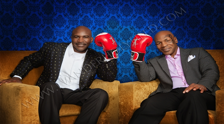 Mike Tyson and Evander Holyfield Sit Down and Rehash the 'Ear Bite' Controversy [Video]