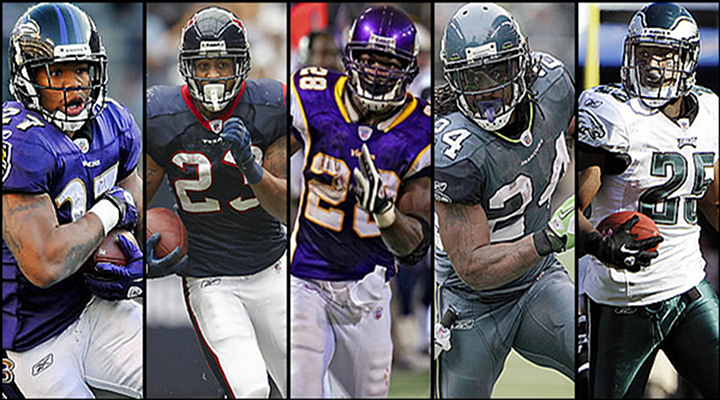 Fantasy Football 2013: Top 10 Running Backs and Boom, Bust and Dark Horse Candidates