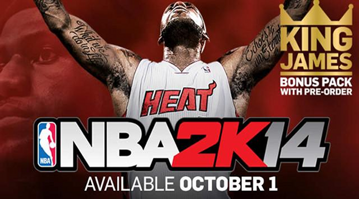 NBA2K14 Releases Its First Official Trailer & Lebron James is the Feature [Video]
