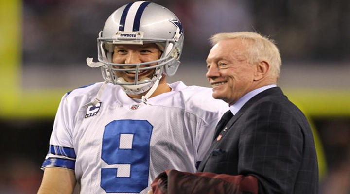 Dallas Cowboys Top Forbes' List of Most Valuable NFL Teams