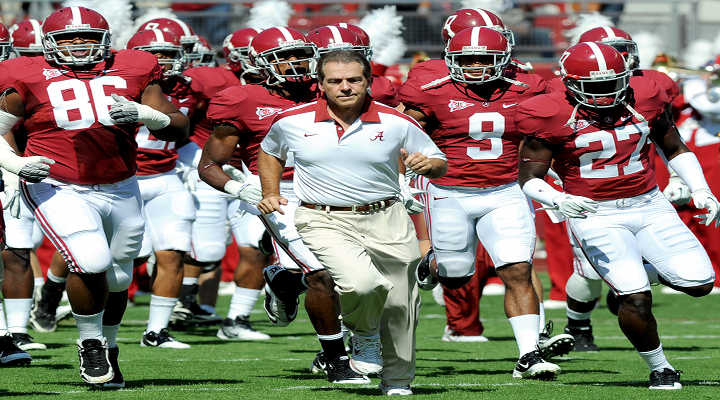 2013 College Football Rankings: AP Poll Top 25 Led by Alabama & Ohio State