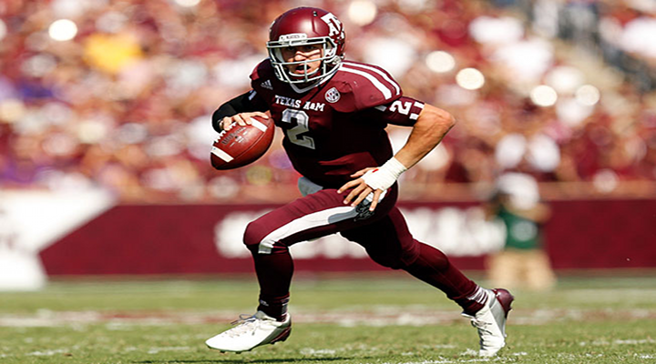Johnny Football Drives Texas A&M Down the Field on the First Drive of the Game for a Touchdown Against Alabama [Video]