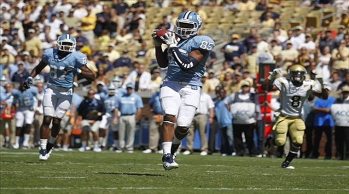 North Carolina TE Eric Ebron Made a Spectacular One-Handed Touchdown Snag Against Georgia Tech [Video]