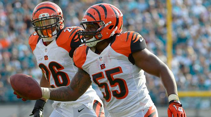 Bengals LB Vontaze Burfict Got Away With a Nut Tap on Ryan Taylor Cincy Win Over Packers [Video]