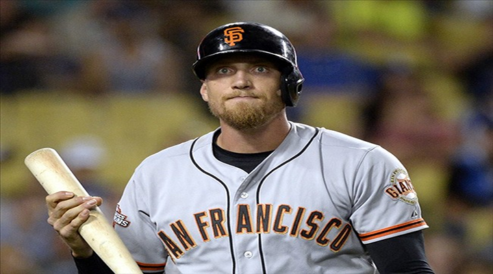 Hunter Pence Reportedly Agrees to 5-Year, $90M Deal with San Francisco Giants