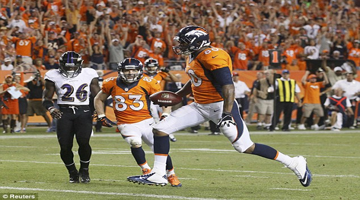 BoneHead: Broncos LB Danny Trevathan Picked Off Joe Flacco, Then Dropped the Ball Before Scoring