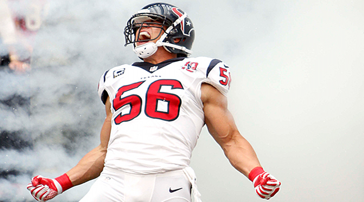 Brian Cushing: Texans Sign Star Linebacker to a 6-Year Extension Worth $55.6M